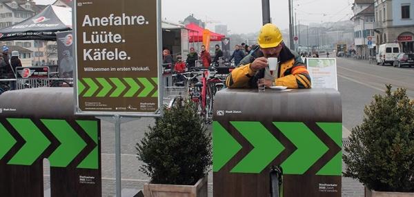 Schweiz Fahrrad-Cafe 3