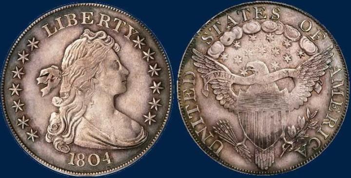 Silberner Dollar