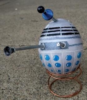 TARDIS und Dalek 1