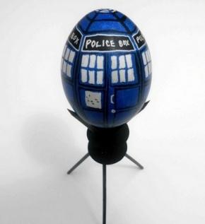 TARDIS und Dalek