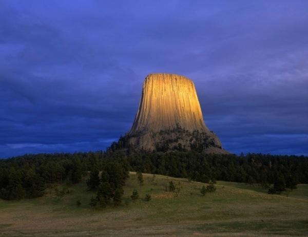 Teufelsberg, Wyoming, USA