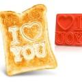 Toaster «Ich liebe dich»