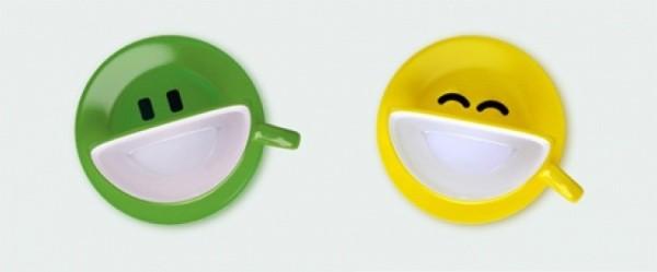 Ukrainisches Studio Psyho hat das Kaffeeservice Antidepressivum