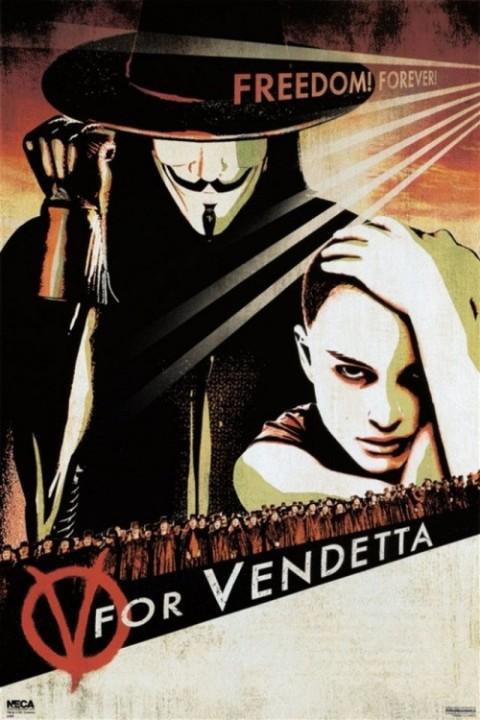 V -  bedeutet Vendetta