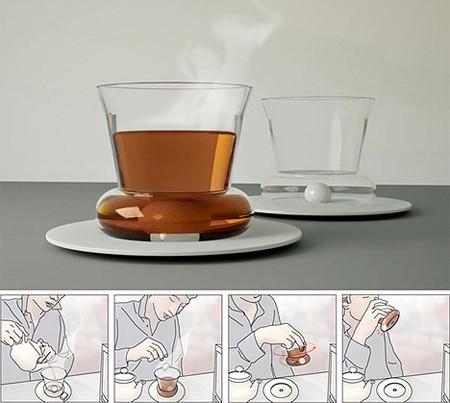 Zu dieser Tasse brauchen Sie keinen Loeffel