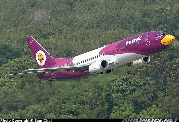 Airline Nok Air, Serie Angry birds