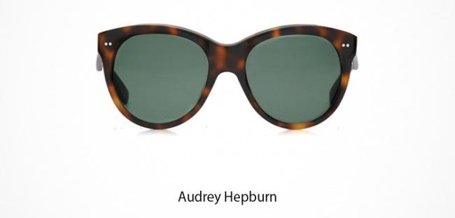 Audrey Hepburn Brille