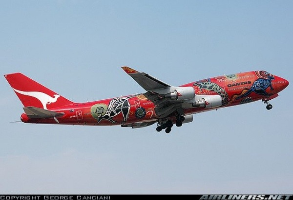 Australiens Gesellschaft Qantas
