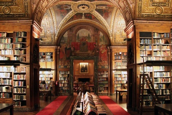 Bibliothek University Club in New York, USA 1
