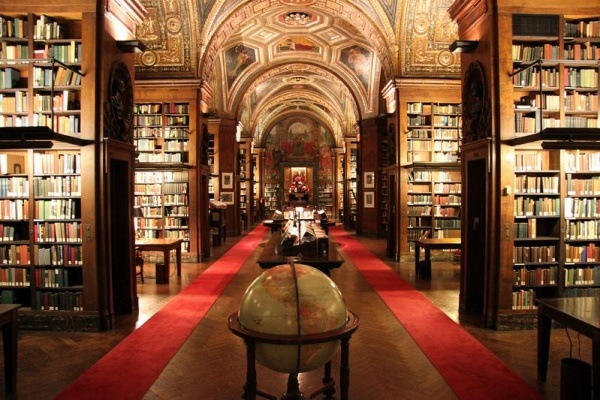 Bibliothek University Club in New York, USA