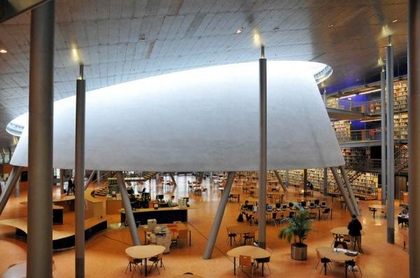 Bibliothek der Technischen Universitaet Delft 1