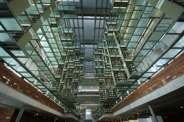 Bibliothek namens Jose Vasconcelos, Mexiko-Stadt, Mexiko