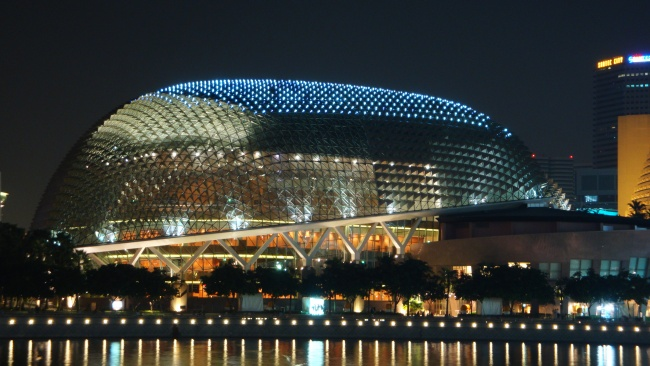 Botanische Bay Gärten von Singapur 11