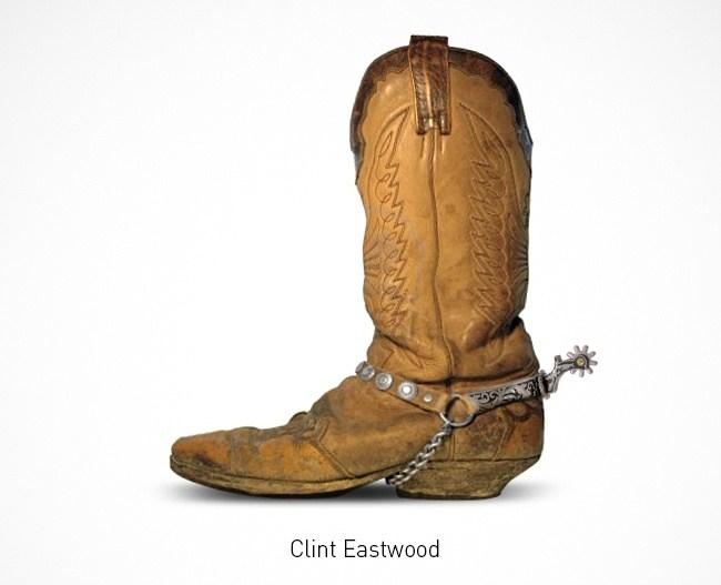 Clint Eastwood  Schuhe