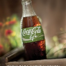 Coca-Cola mit grune Etikett 01
