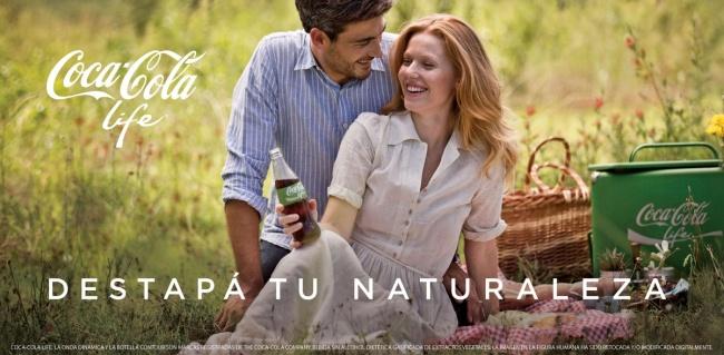 Coca-Cola mit grune Etikett 02