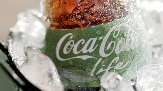 Coca-Cola mit grune Etikett 04