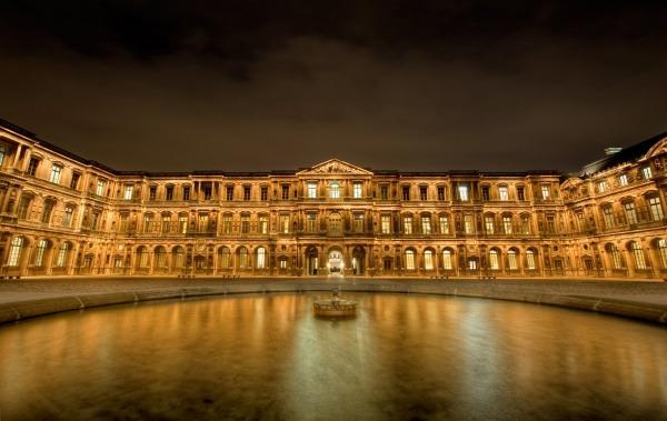 Der Louvre, Paris, Frankreich 1