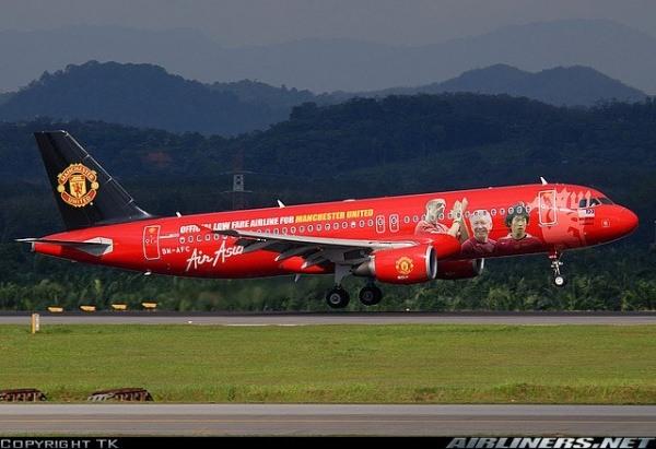 Die Fluggesellschaft Air Asia