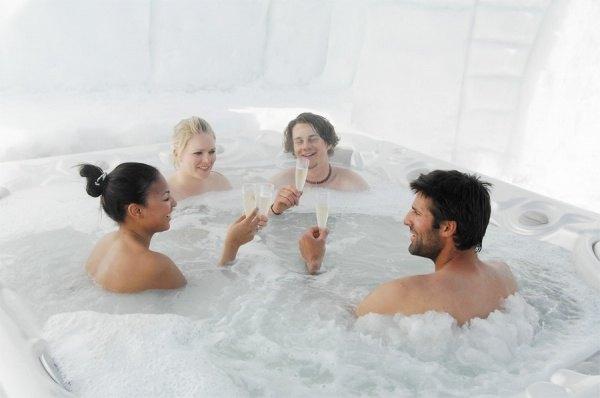 Eishotel, Andorra, Schweiz, Deutschland 1