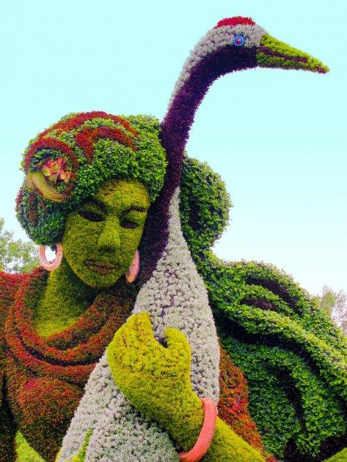 Frau vom Osten Skulpture