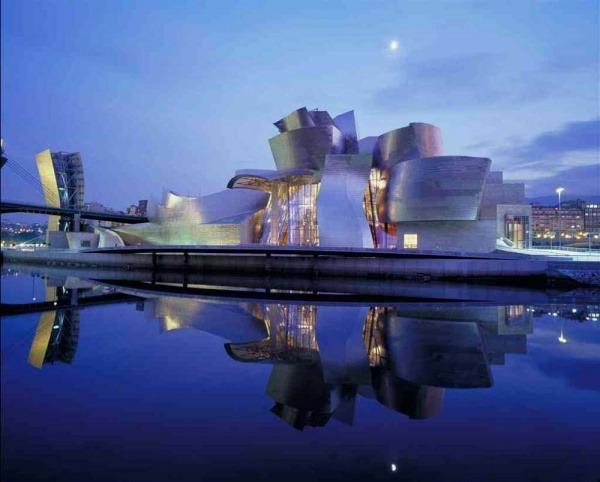 Geggenhayma Museum in Bilbao, Spanien 1