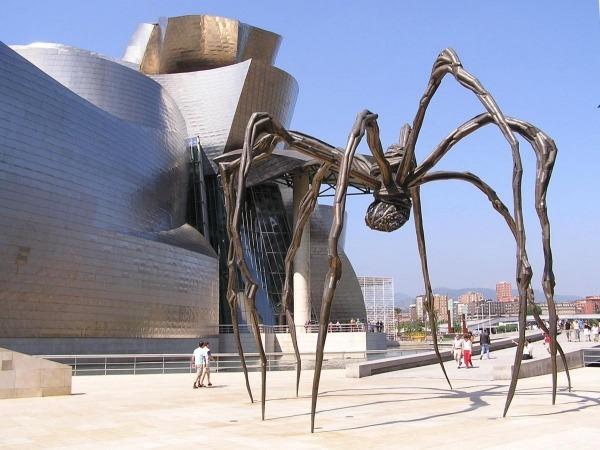 Geggenhayma Museum in Bilbao, Spanien 2