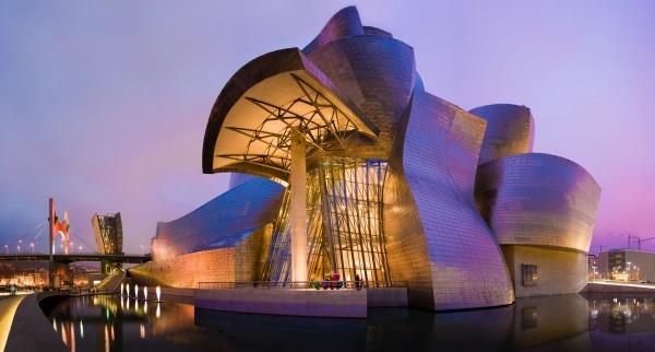 Geggenhayma Museum in Bilbao, Spanien