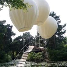 Haengebruecke auf den Luftballons