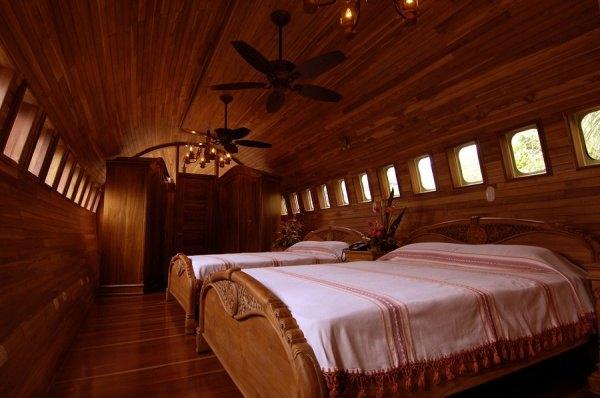 Hotel Flugzeug, Costa Rica 1