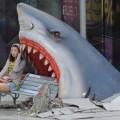 Im Rachen eines Hais