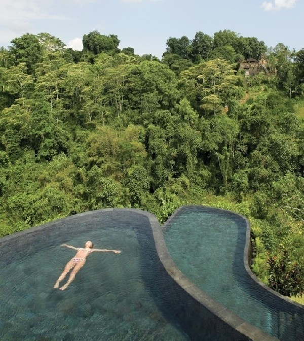 Insel Bali, Indonesien - Ubud Hanging Gardens Hotel 1