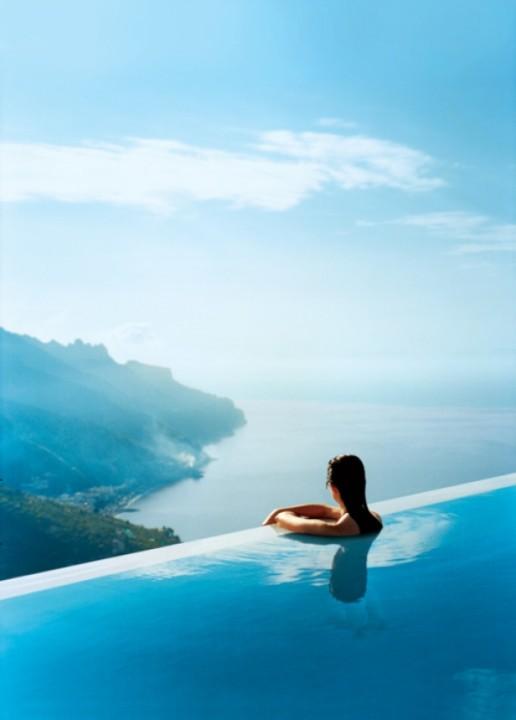 Italien exotische Schwimmbäder