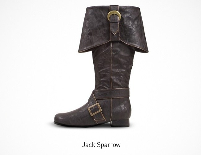 Jack Sparrow Schuhe
