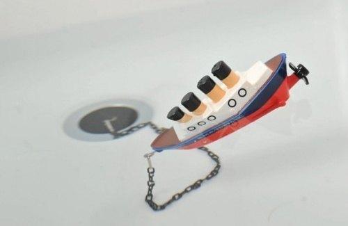 Knebel fuer Bad mit einem Schiffchen