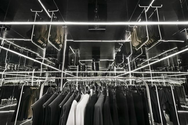 Kreative Interior Design fur das Bekleidungsgeschaft 01