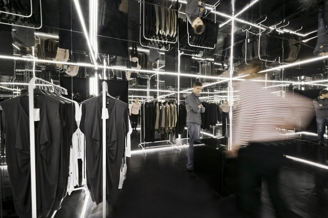 Kreative Interior Design fur das Bekleidungsgeschaft 02