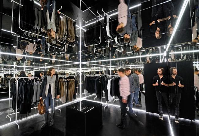 Kreative Interior Design fur das Bekleidungsgeschaft 04