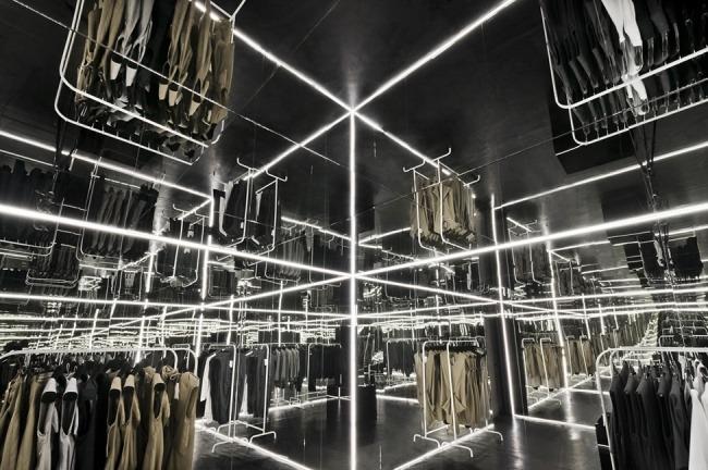 Kreative Interior Design fur das Bekleidungsgeschaft 06