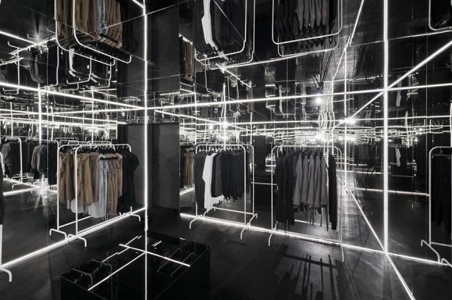 Kreative Interior Design fur das Bekleidungsgeschaft 07