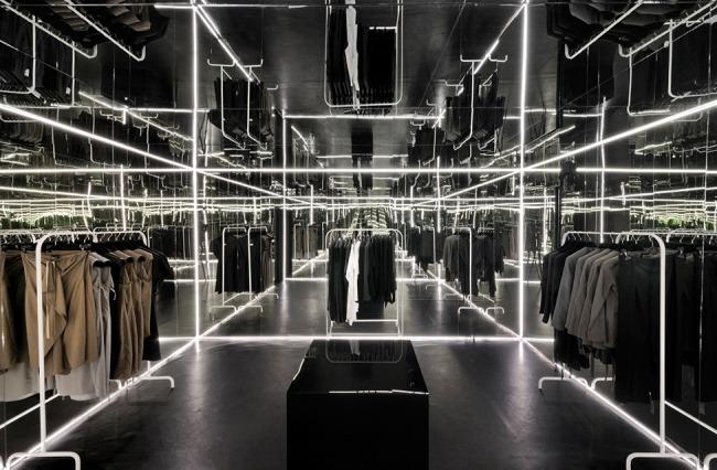 Kreative Interior Design fur das Bekleidungsgeschaft 09