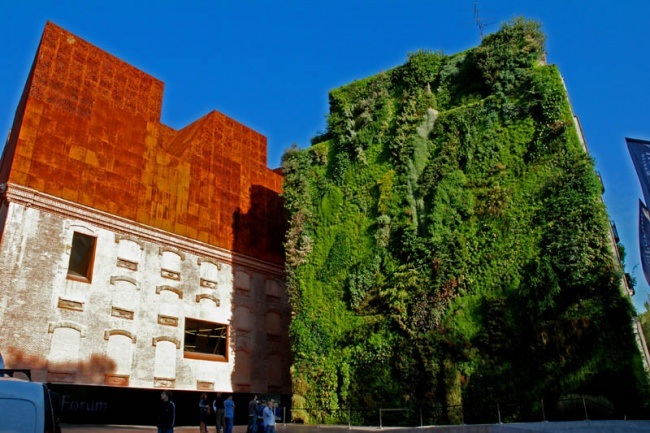 Kulturzentrum CaixaForum in Madrid