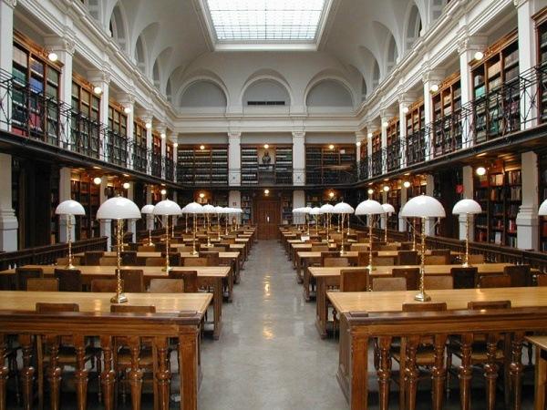 Lesebibliothek Universitaet Graz in OEsterreich