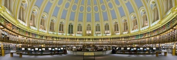 Lesesaal des Britischen Museums in London 1