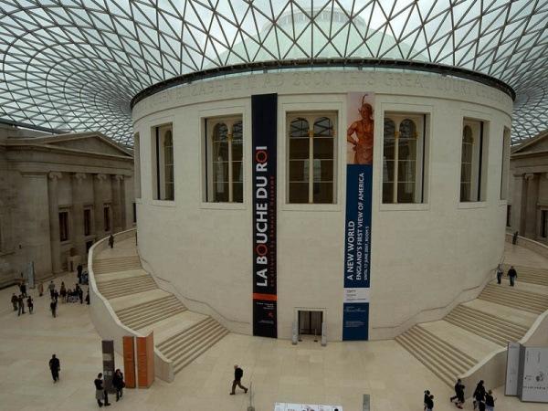 Lesesaal des Britischen Museums in London