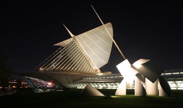 Milwaukee Art Museum, Milwaukee, USA 1
