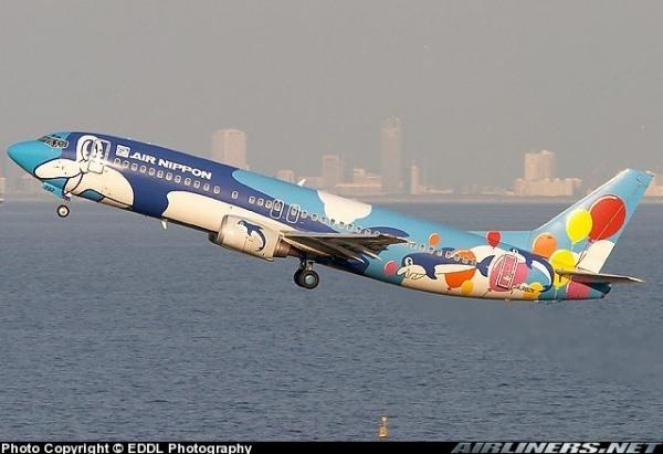Noch ein festlicher Flug von Air Nippon Airways