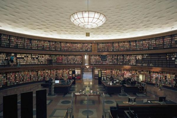 OEffentliche Bibliothek Stockholm, Schweden