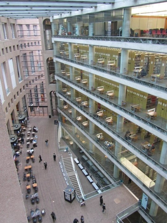 OEffentliche Bibliothek Vancouver, British Columbia 1