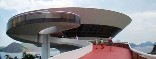 Oscar Niemeyer Museum, in Curitiba, Brasilien 1